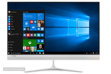 Десктоп компютър LENOVO AIO 520S-23IKU /F0CU004Q/, i3-7100U, 23', 8GB, 1TB, Windows 10, AIO 520S-23IKU