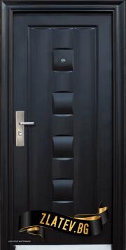 Блиндирана входна врата модел 137-P -50% чист монтаж